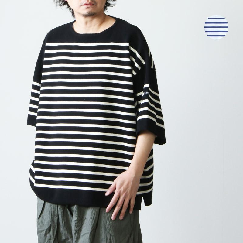 is-ness (イズネス) SHORT SLEEVE BASQUE SHIRT / ショートスリーブバスクシャツ