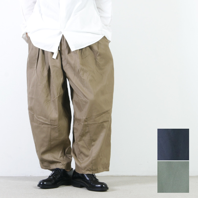 is-ness(イズネス) BALLOON EZ PANTS