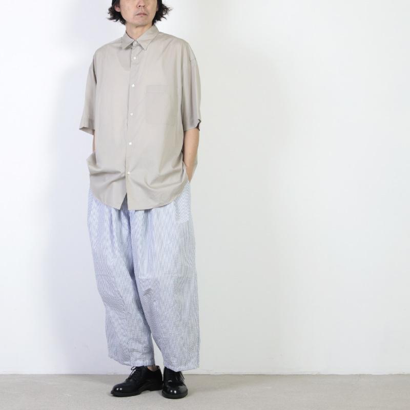 is-ness(イズネス) BALLOON EZ PANTS CHECK&STRIPE