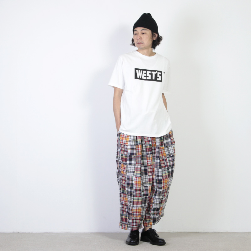 is-ness(イズネス) BALLOON EZ PANTS CHECK&STRIPE
