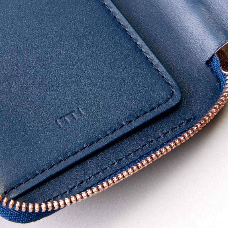 ITTI(イッチ) CRISTY VERY COMPACT WLT/藍桟革
