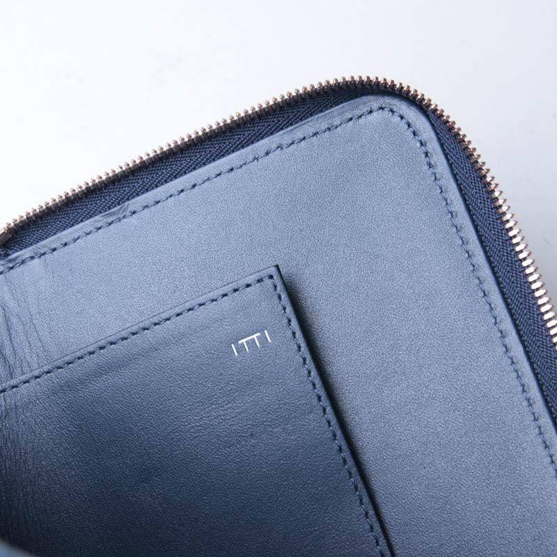 ITTI(イッチ) CRISTY STUFFING MID WLT/藍桟革