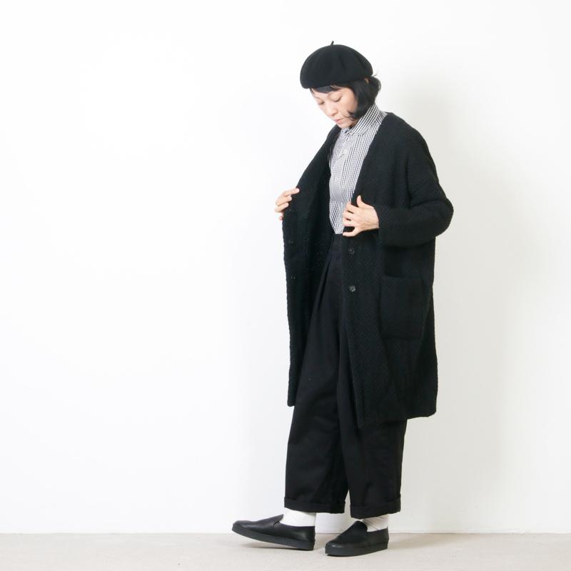 john branigan(ジョンブラニガン) Vネックコート
