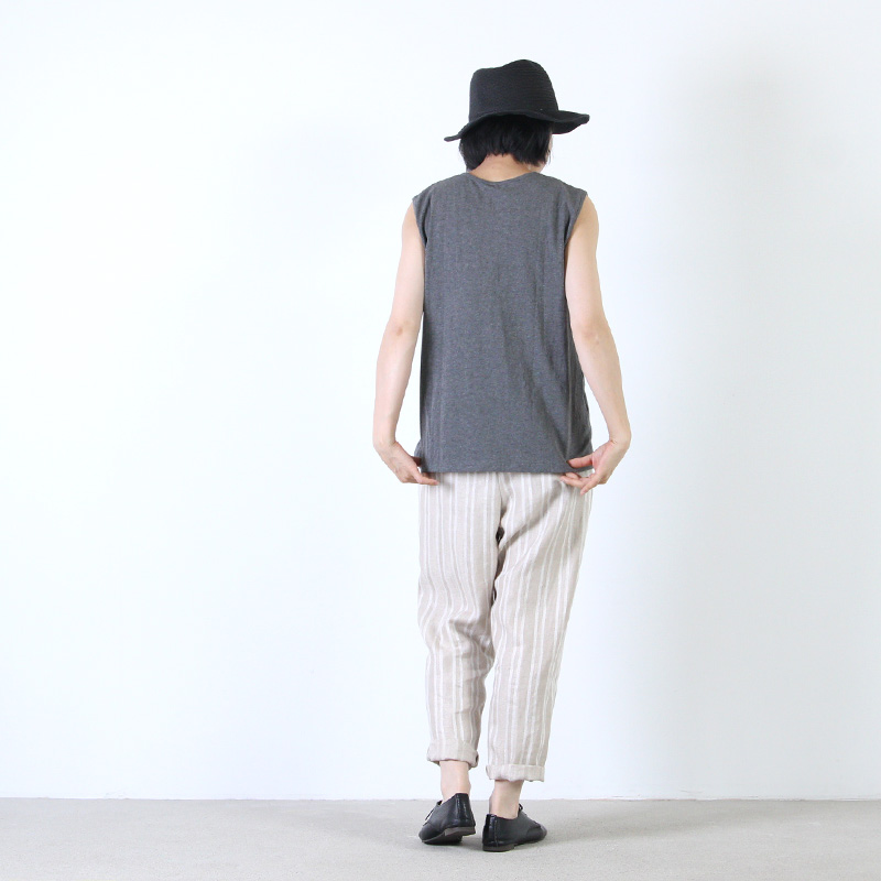 jujudhau(ズーズーダウ) SMALL NECK TANK TOP