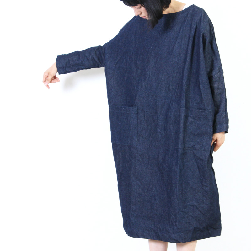 jujudhau (ズーズーダウ) POCKET DRESS / ポケットドレス