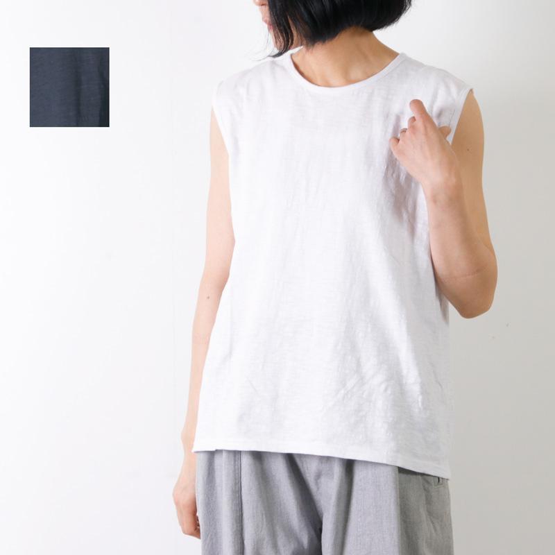 jujudhau (ズーズーダウ) SMALL NECK TANK TOP