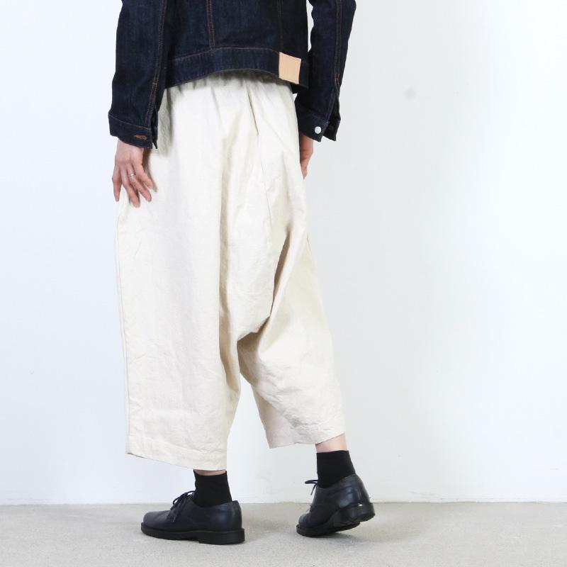 jujudhau(ズーズーダウ) DUMPY PANTS