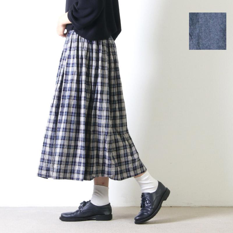 jujudhau (ズーズーダウ) GATHER SKIRT / ギャザースカート