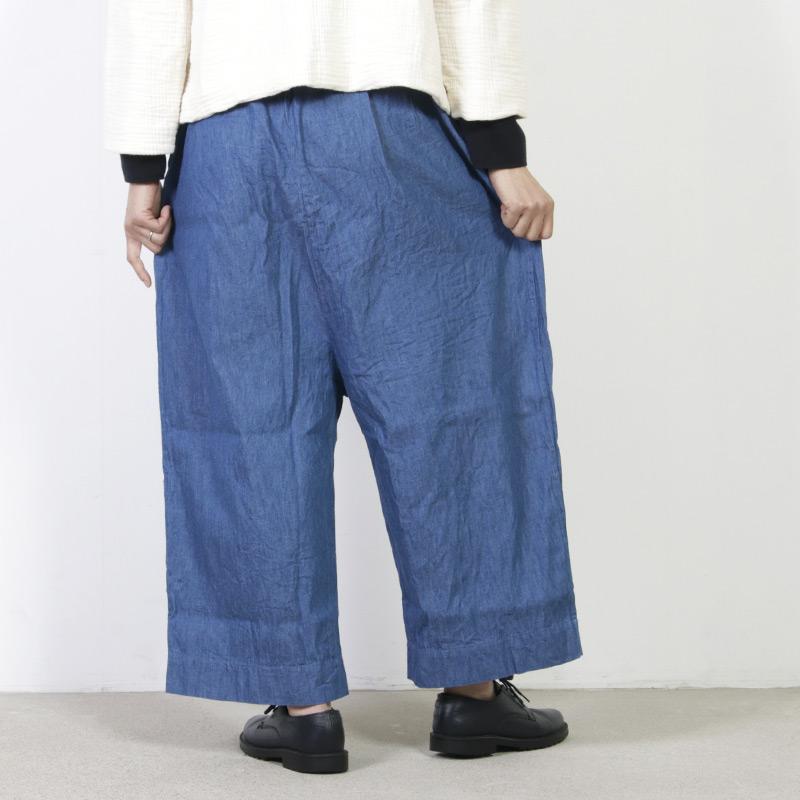 jujudhau(ズーズーダウ) WIDE PANTS