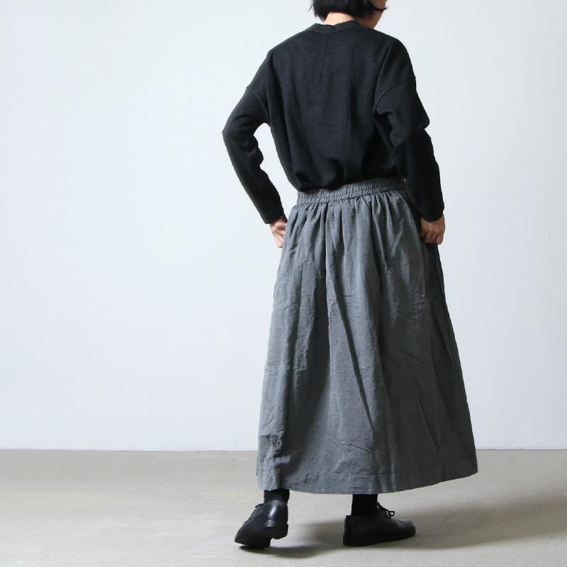 jujudhau(ズーズーダウ) GATHER SKIRT