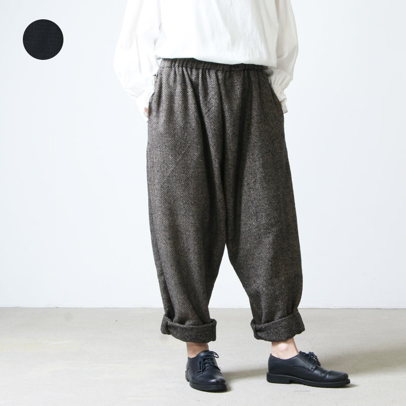 jujudhau (ズーズーダウ) DUMPY LONG PANTS / ダンピーロングパンツ