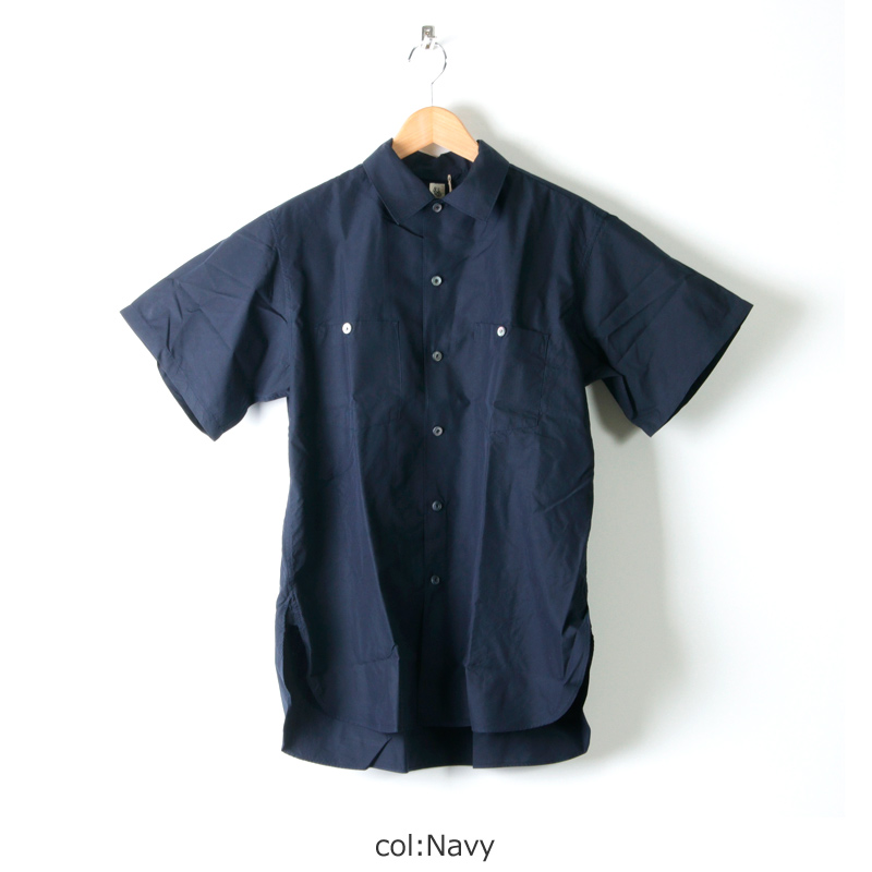 KAPTAIN SUNSHINE(キャプテンサンシャイン) Finx Cotton-Silk Light Weather Work Shirt