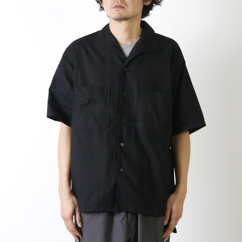 KAPTAIN SUNSHINE(キャプテンサンシャイン) Italian Collar Safari Shirt