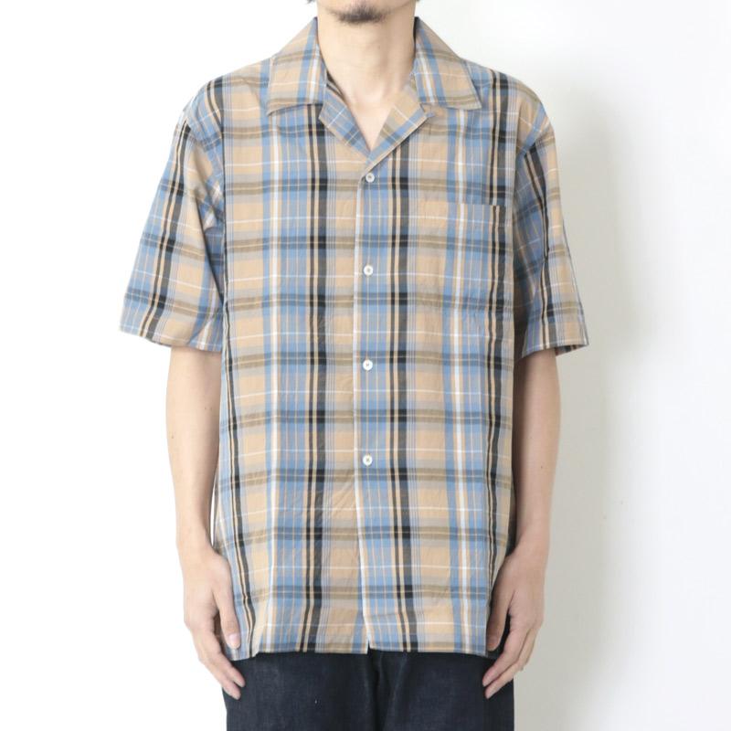 KAPTAIN SUNSHINE(キャプテンサンシャイン) Open Collar S/S Shirt