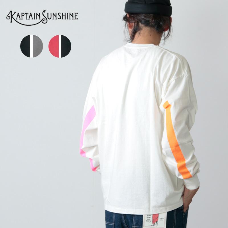 KAPTAIN SUNSHINE (キャプテンサンシャイン) West Coast L/S Tee / ウェストコーストロングスリーブTシャツ