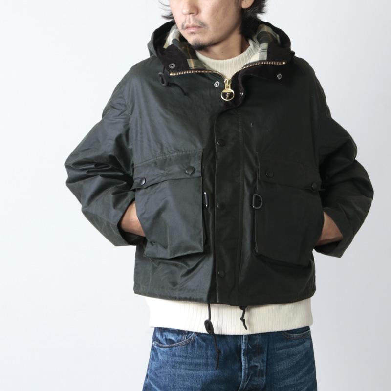 KAPTAIN SUNSHINE(キャプテンサンシャイン) Made by Barbour Field Short Hoody Jacket