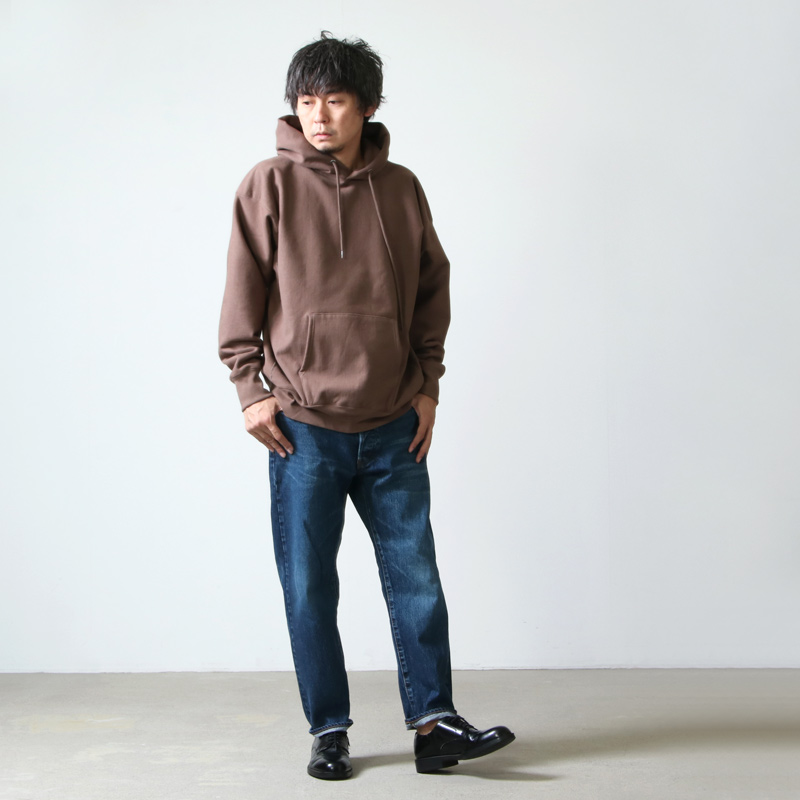 KAPTAIN SUNSHINE(キャプテンサンシャイン) Stretch Sweat Hoody