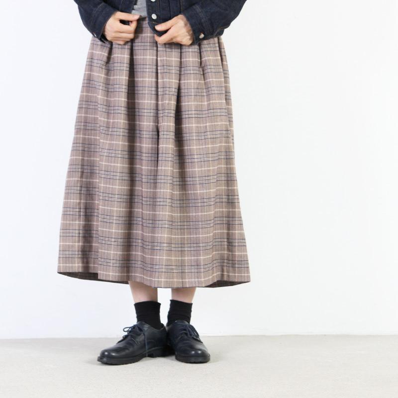 kelen(ケレン) タックワイドトラウザーズ Fore Check