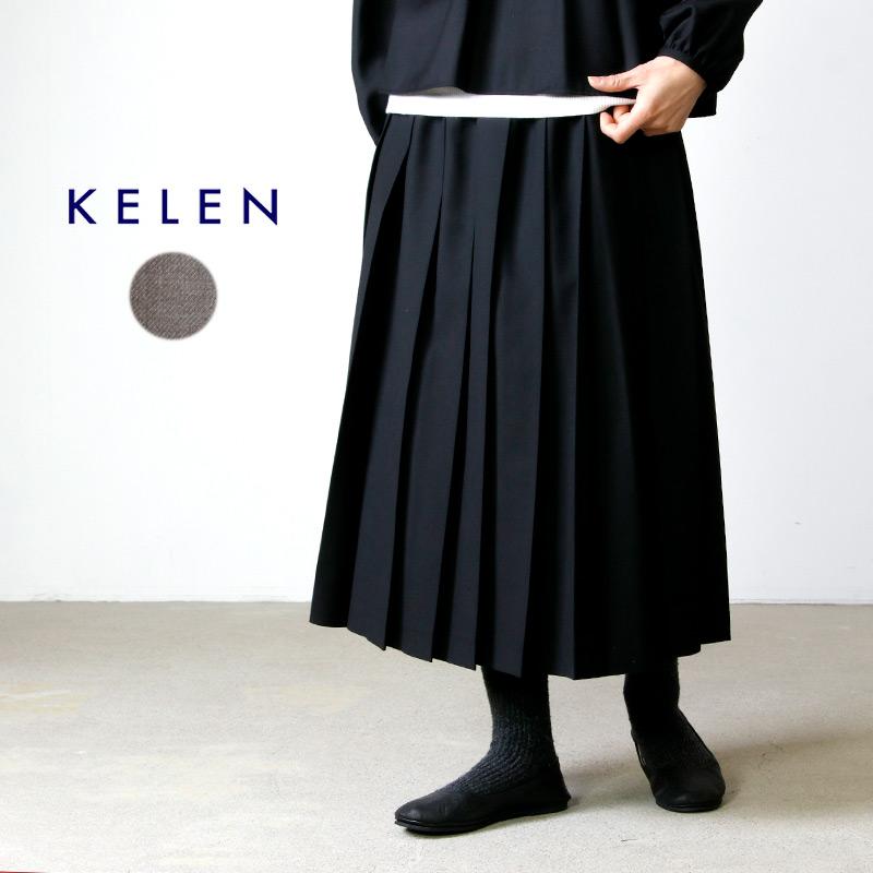 kelen (ケレン) Pleats Skirt Roz / プリーツスカートロズ