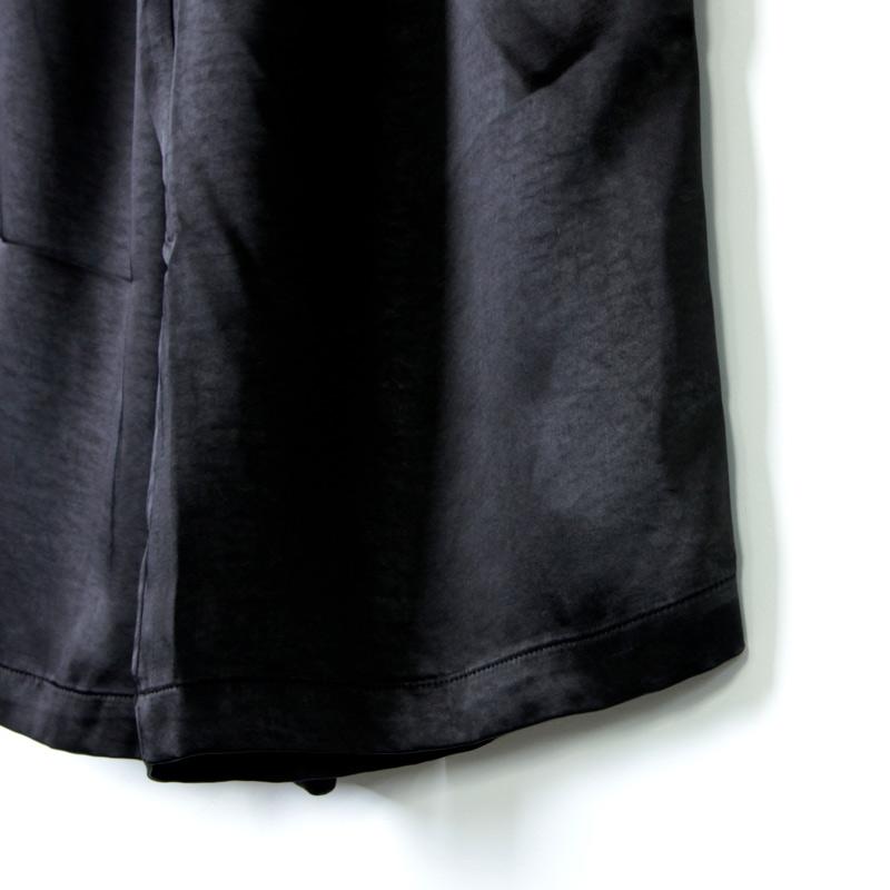 kelen(ケレン) 2Tuck Easy Wide Pants Soi Satin