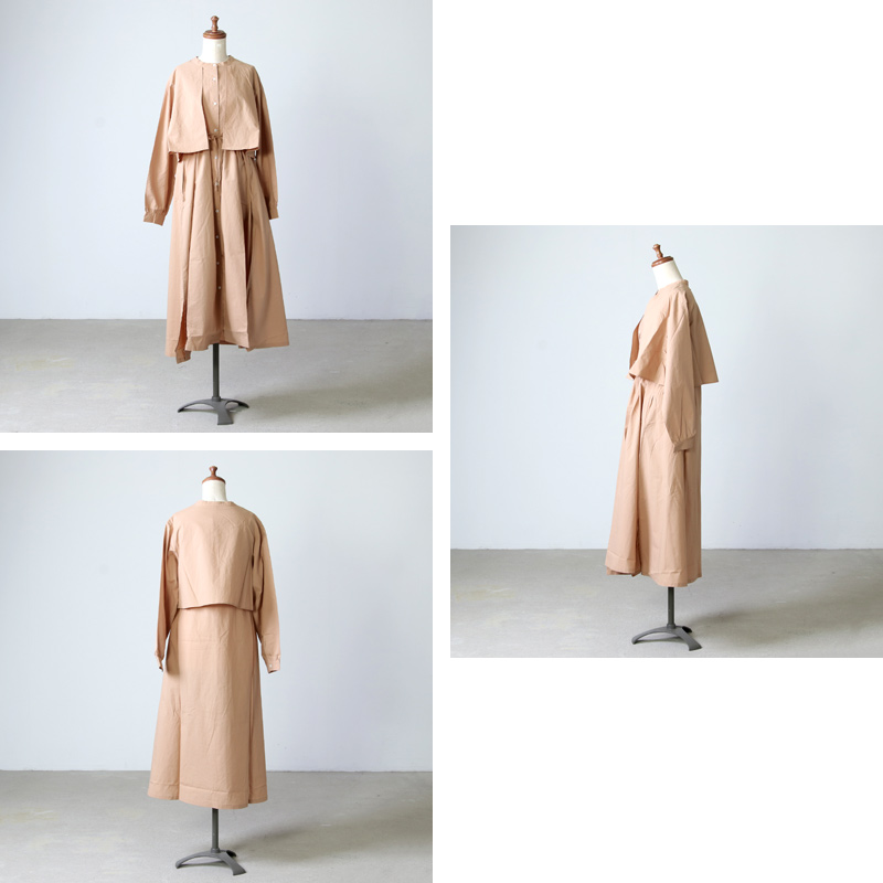 kelen(ケレン) Layered Shirt Dress Focy