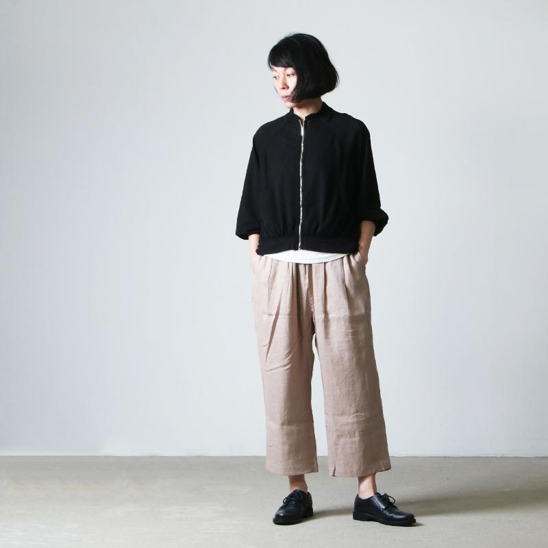 kelen(ケレン) 2Tuck Easy Wide Pant Soi Linen