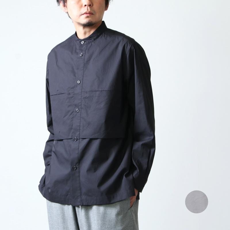 kontor (コントール) POCKET VENT SHIRT / ポケットベントシャツ