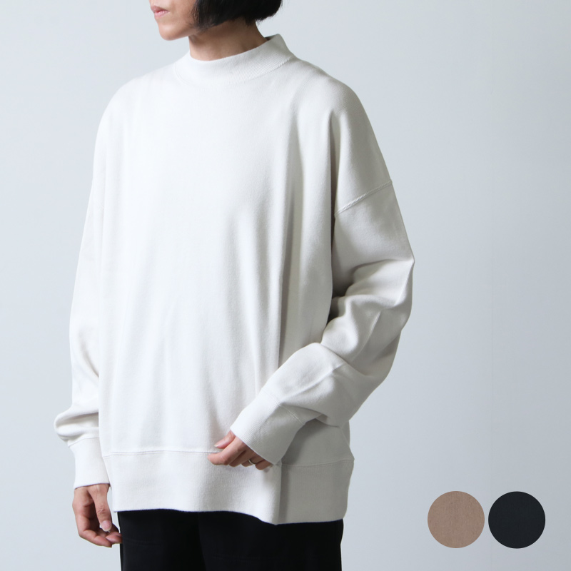 LENO (リノ) MOCK NECK LONG T-SHIRT / モックネックロングティーシャツ