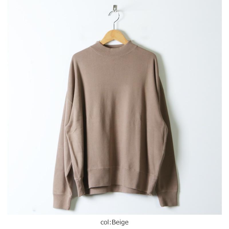 LENO(リノ) MOCK NECK LONG T-SHIRT