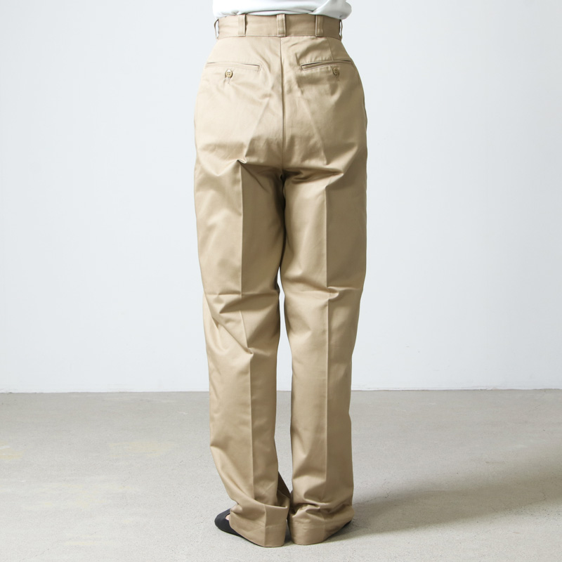 LENO(リノ) WIDE CHINO TROUSERS