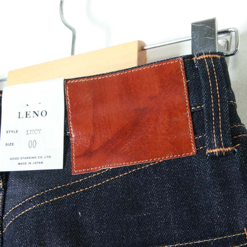 "LENO(リノ) ""LUCY"" HIGH WAIST TAPERED JEANS"