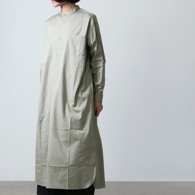 LENO(リノ) BAND COLLAR PULLOVER DRESS