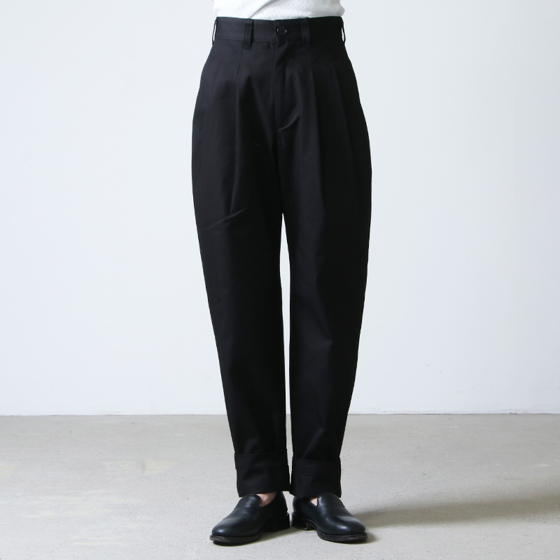 LENO(リノ) 2 TUCK TROUSERS