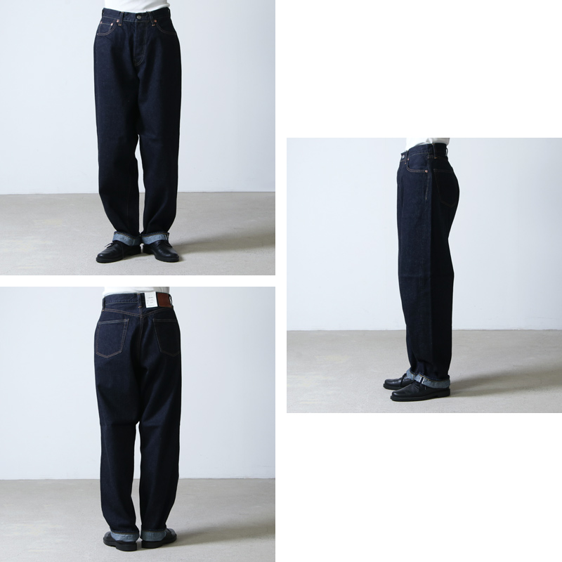 LENO(リノ) LOOSE TAPERED JEANS
