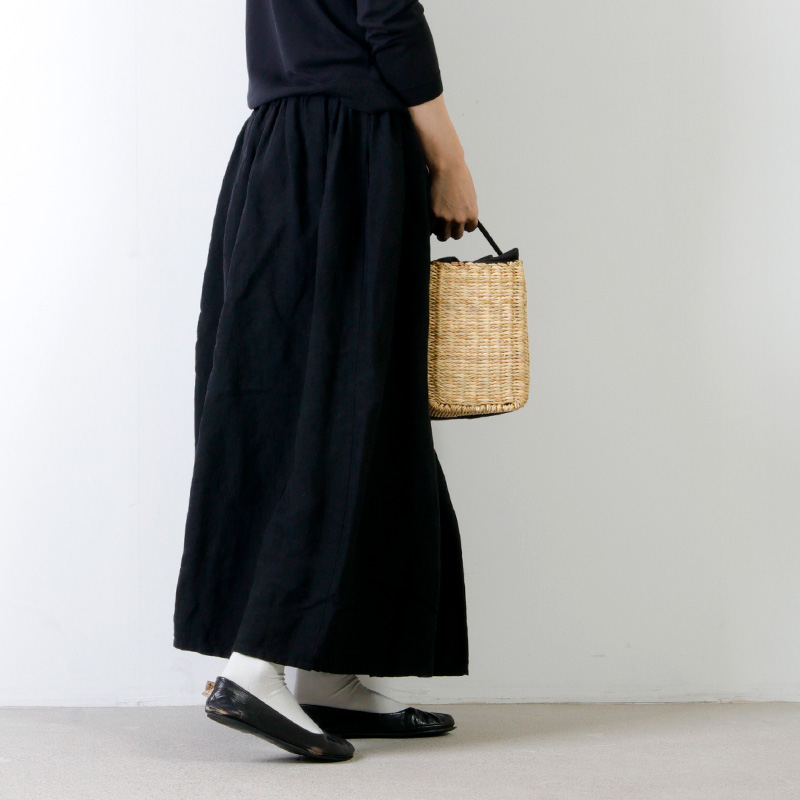 Lin francais d'antan(ランフランセダンタン) Elgort(エルゴート)カゴバッグ