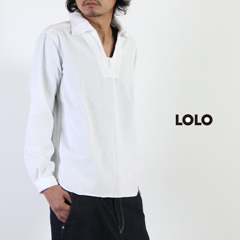 LOLO(ロロ) 8オンス デニムプルオーバー
