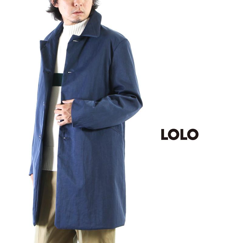 LOLO(ロロ) ナイロン完全無双 コート