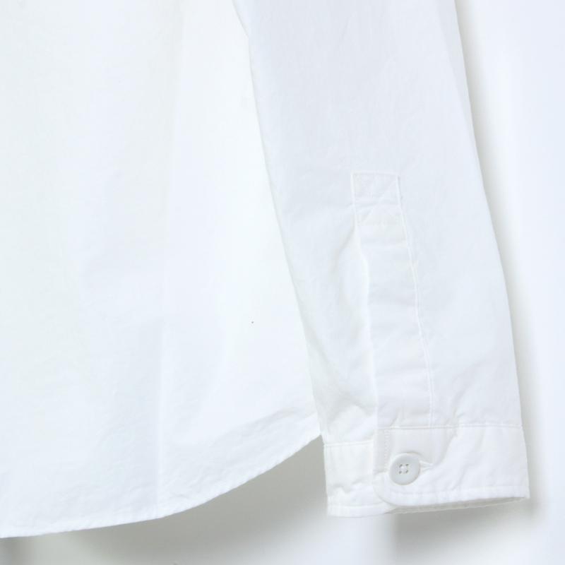 LOLO(ロロ) 定番プルオーバー型 前開き比翼シャツ