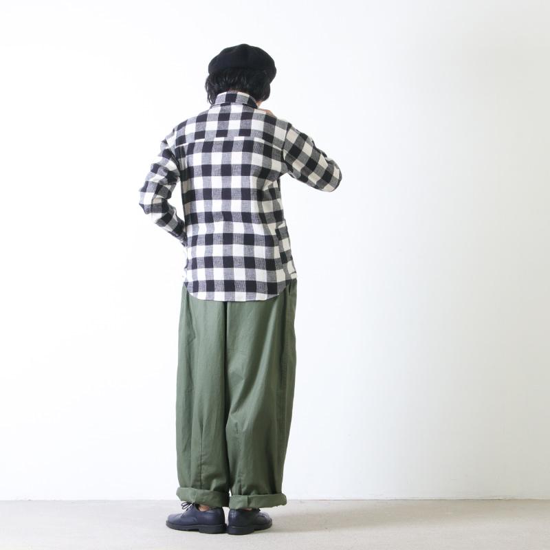 LOLO(ロロ) 定番プルオーバー型 バッファローチェックシャツ size:S