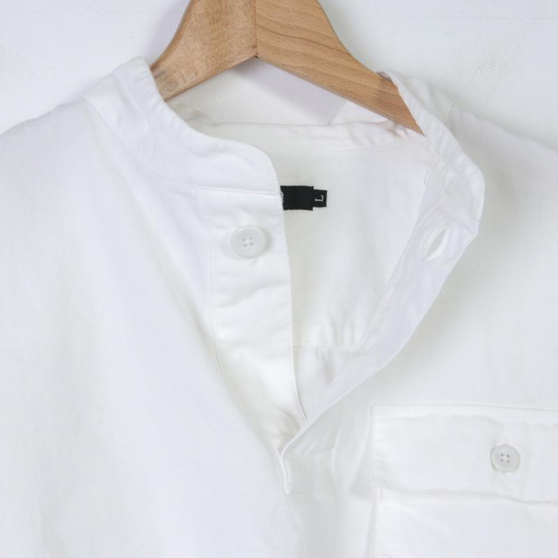 LOLO(ロロ) スタンドカラー プルオーバーシャツ