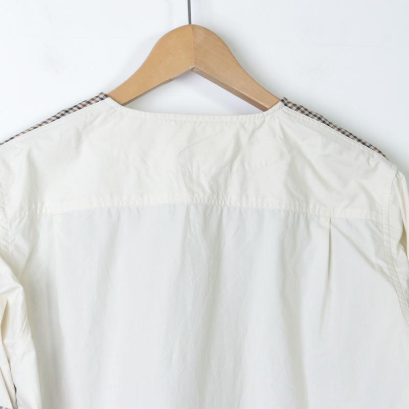 LOLO(ロロ) ガンクラブチェック コンビネーションシャツ