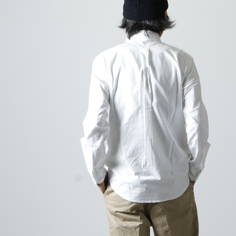 MANUAL ALPHABET(マニュアル アルファベット) SUPIMA OX BD SHT Suitable Fit