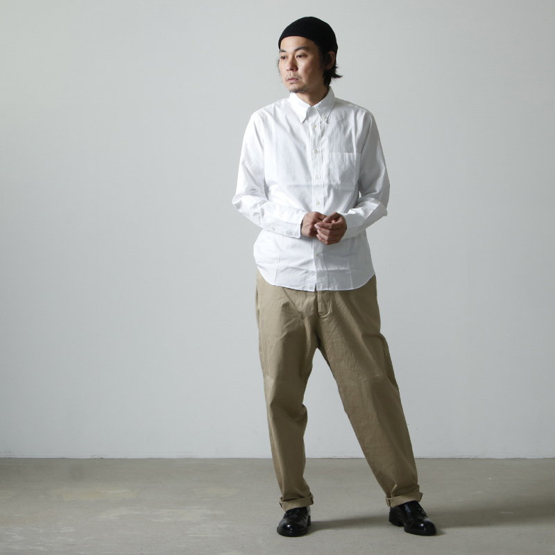 MANUAL ALPHABET(マニュアル アルファベット) 100/2 BROAD BD SHT Suitable Fit