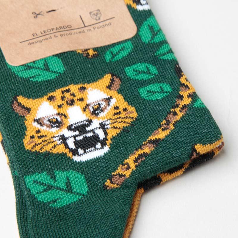 MANY MORNINGS(メニーモーニングス) Regular Socks El Leopardo