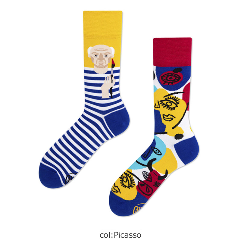 MANY MORNINGS(メニーモーニングス) Regular Socks Picassocks