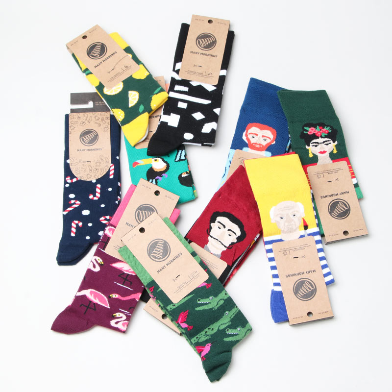 MANY MORNINGS(メニーモーニングス) Regular Socks TropicalHeat
