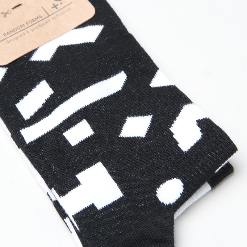 MANY MORNINGS(メニーモーニングス) Regular Socks RandomForm