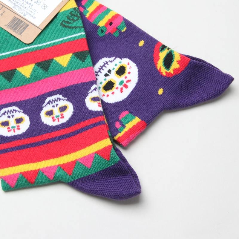MANY MORNINGS(メニーモーニングス) Regular Socks Fiesta Mex