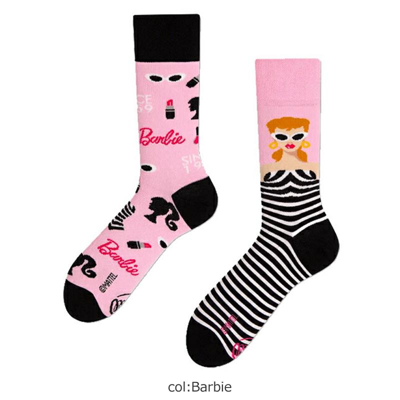 MANY MORNINGS(メニーモーニングス) Regular Socks Barbie
