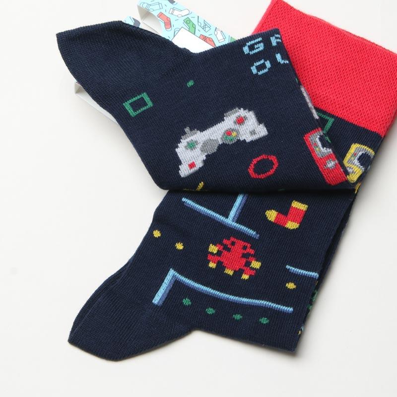MANY MORNINGS(メニーモーニングス) Regular Socks Game Over
